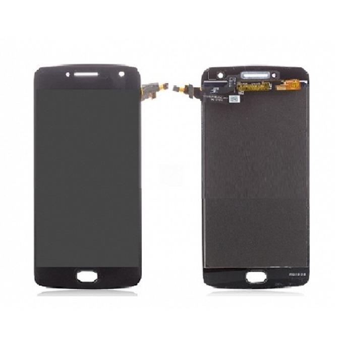 Дисплей за Motorola Moto G5 Plus, LCD, с тъч, черен image