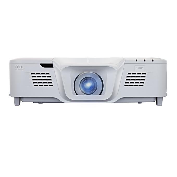 Проектор ViewSonic Pro8530HDL, DLP, Full HD (1920x1080), 15000:1, 5200 lm, VGA, HDMI, RS232, S-Video, HDBaseT, LAN, бял image