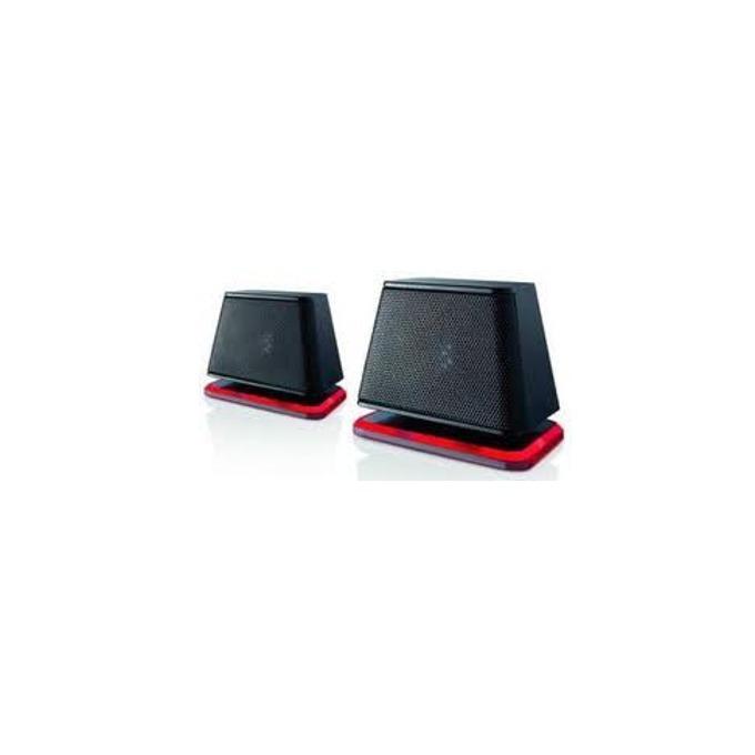 Тонколони Fujitsu DS E2000 Air, 2.0, 2.4W, 3.5 mm jack, черни, захранване през USB  image