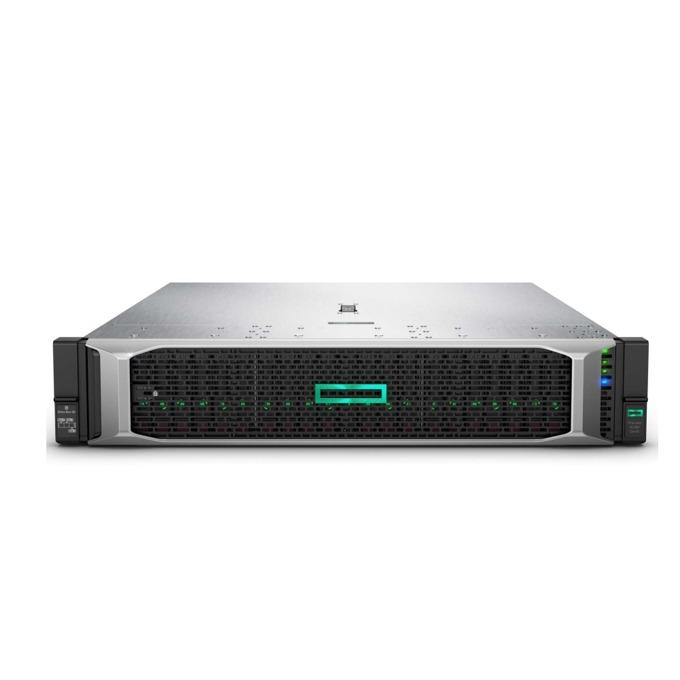 Сървър HPE DL380 G10 (826566-B21), 2x дваянадесетядрени Intel Xeon Gold 5118 2.3/3.2 GHz, 64GB DDR4, No HDD, 4x 1 GbE, без OS, 2x 800W image