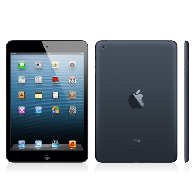 "Таблет Apple iPad mini (MD540HC/A)(черен), 4G, 7.9"" (20.07 cm) Retina дисплей, двуядрен Apple A5 1.0 GHz, 512MB RAM, 16GB Flash памет, 5.0 & 1.2 Mpix камера, iOS, 308g image"