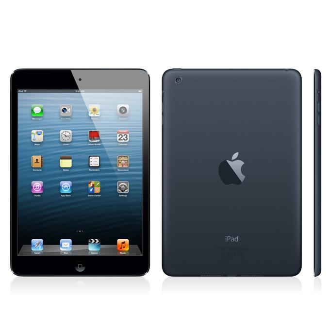 "Таблет Apple iPad mini (MD540HC/A)(черен), 4G, 7.9"" (20.07 cm) Retina дисплей, двуядрен Apple A5 1.0 GHz, 512MB RAM, 16GB Flash памет, 5.0 & 1.2 Mpix камера, iOS, 308g image"