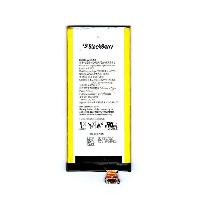 Батерия (оригинална) BlackBerry BAT-50136-003 за BlackBerry Z30, 2880mAh/3.8V, Bulk image