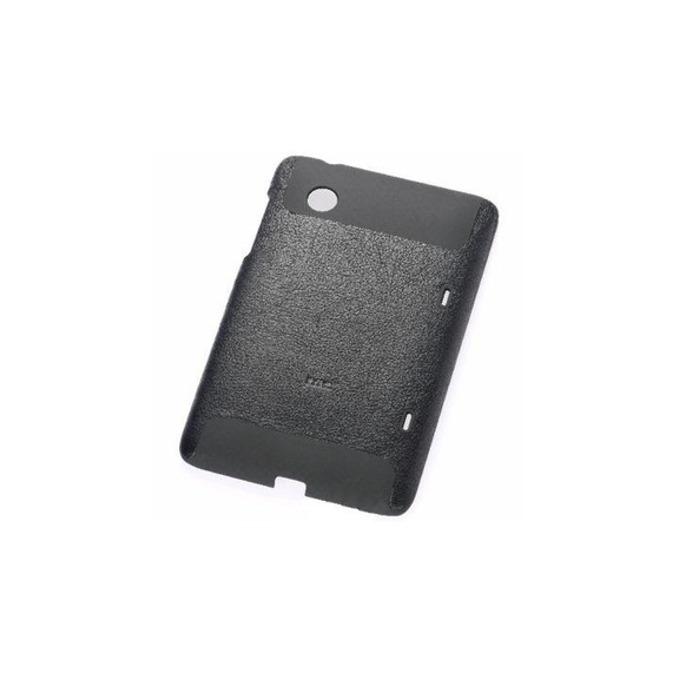 Калъф за за HTC Flyer, Поликарбонатов протектор, кожен, HTC Hard Shell Case, черен image