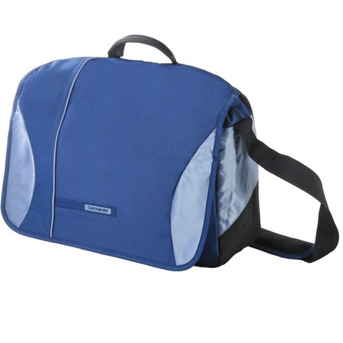 "Чанта за лаптоп Samsonite MESSENGER, до 15.4"" (39.12 cm), синя image"