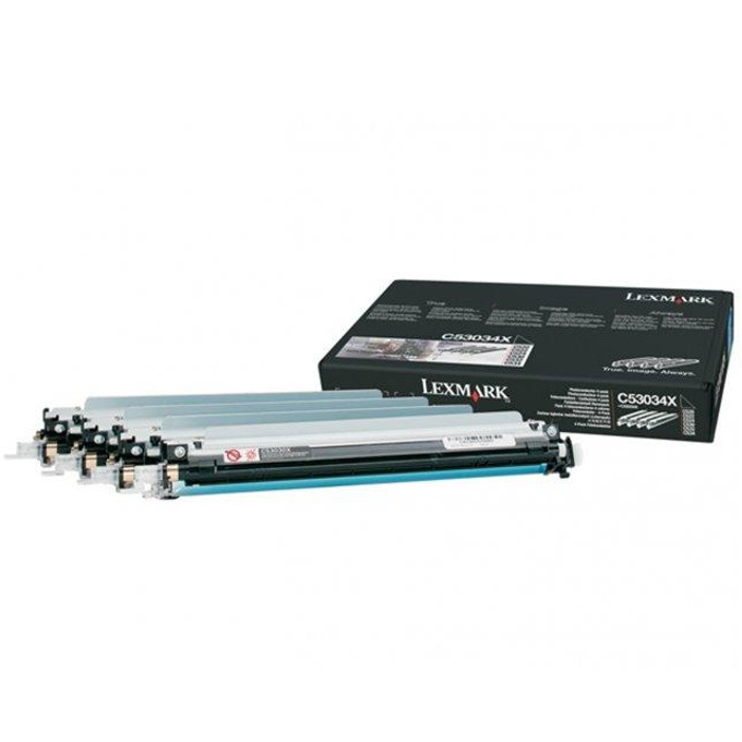 Photoconduktor unit ЗА LEXMARK C 520/522/524/530/532/534 - Photoconduktor unit - 4pcs. - P№ C53034X - заб.: 4 x 20000k image