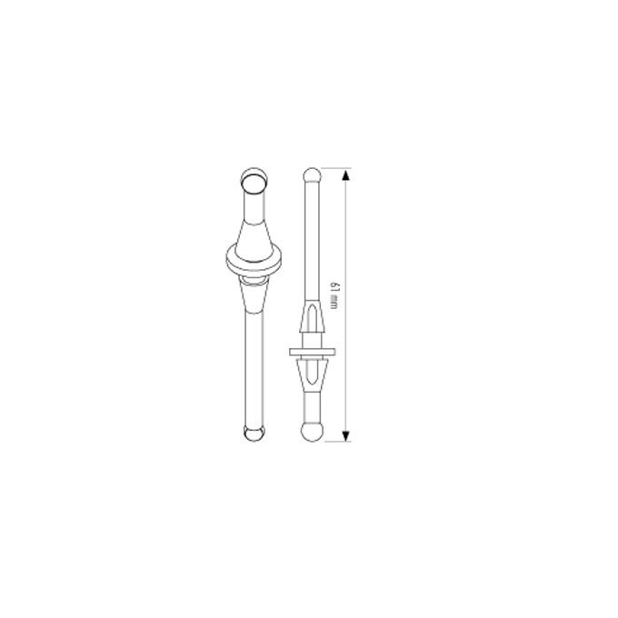 Елемент за монтаж неутрализиращ вибрации, Noctua Fan Slics, 4 броя image