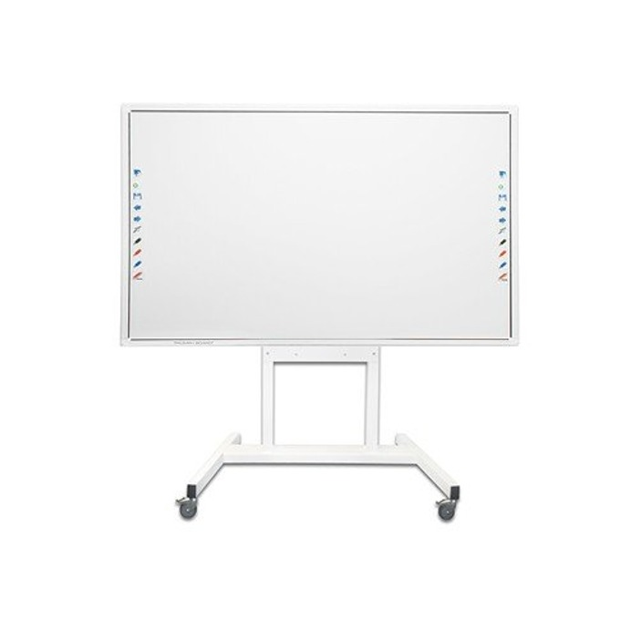 Мобилна стойка Triumph board за Interactive Flat Panel, с колела. бяла image