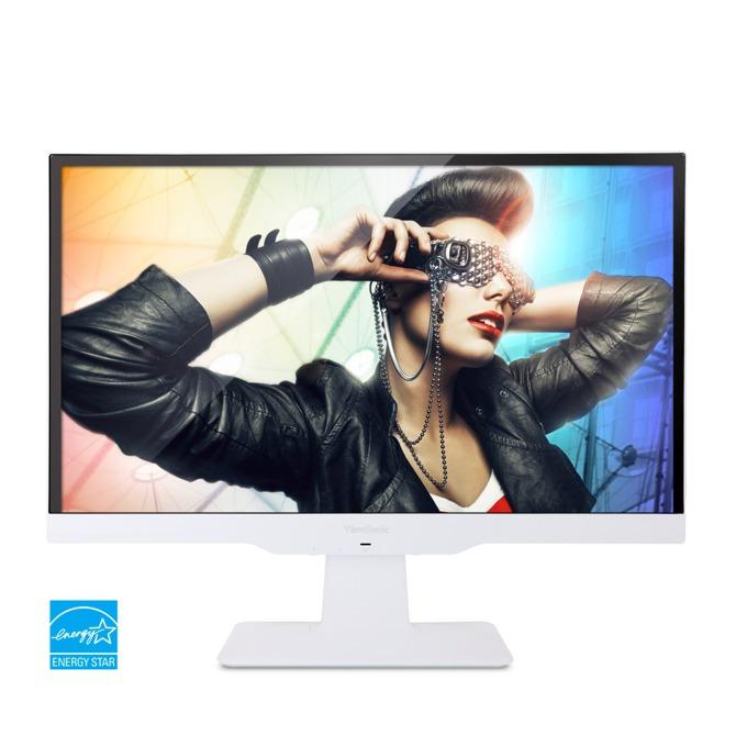 """Монитор 21.5""""(54.61cm) Viewsonic VX2263SMHL-W, IPS панел, Бял, FULL HD WLED, 2ms (GTG), 50 000 000:1, 250cd/m2, HDMI/MHL, D-Sub, 2x вградени колонки 1.5W image"""