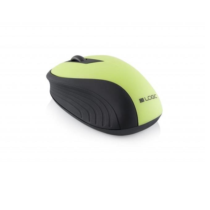 Мишка Logic wireless LM-23, безжична, оптична (1000 dpi), зелена image