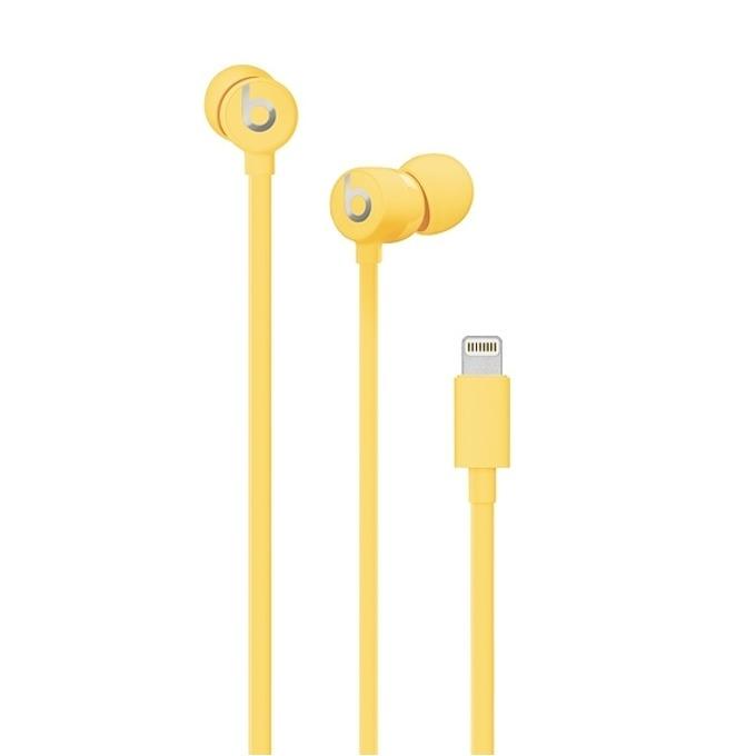Слушалки Beats urBeats3, Lightning, микрофон, жълти image