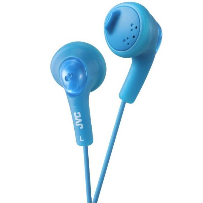 Слушалки JVC HAF160 Gumy Bass Boost Stereo, син image