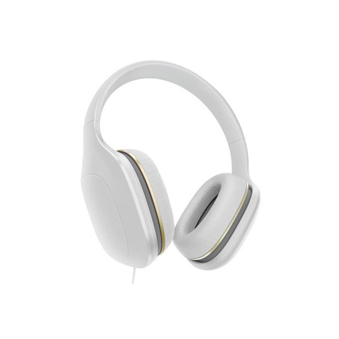 Слушалки Xiaomi Mi Headphones Comfort, микрофон, сензорно управление, бели image