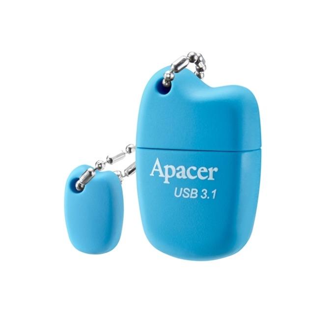 64GB USB Flash Drive, Apacer AH159, USB 3.1, син image