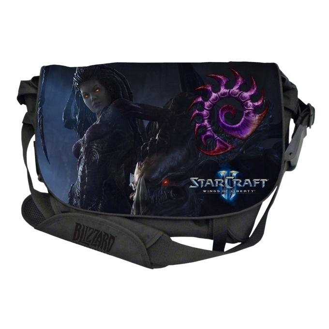 "Чанта Razer StarCraft II Messenger Bag: Zerg Edition за лаптоп до 15"" (38.10 cm) image"