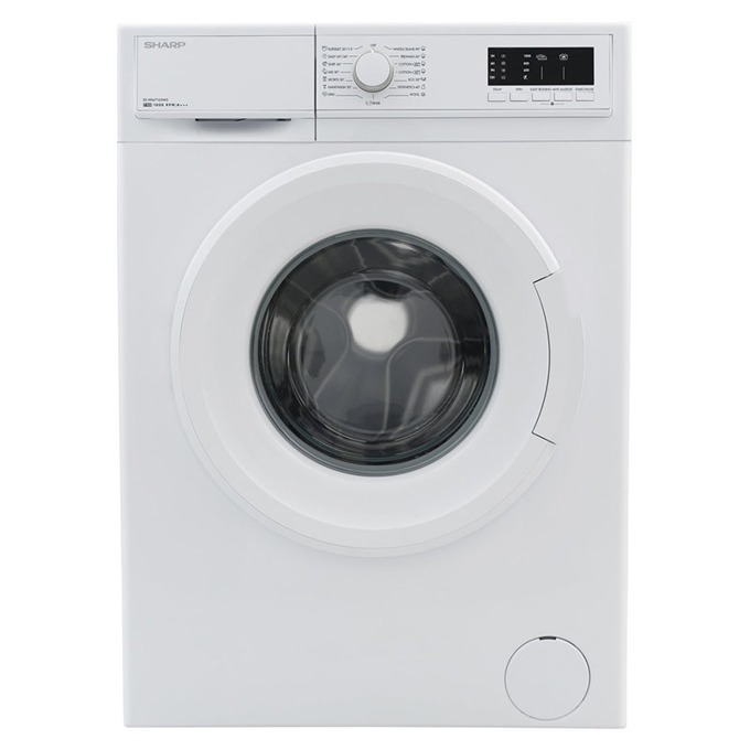 Перална машина Sharp ES-HFA7103W3, A+++, 7kg, 1000 обр./мин, 15 програми, свободностояща, 60см, бяла image