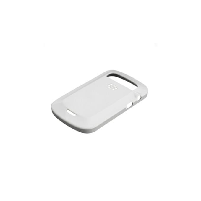 Калъф за Blackberry Torch 9800, страничен протектор с гръб, поликарбонатов, Blackberry Hard Shell, бял image