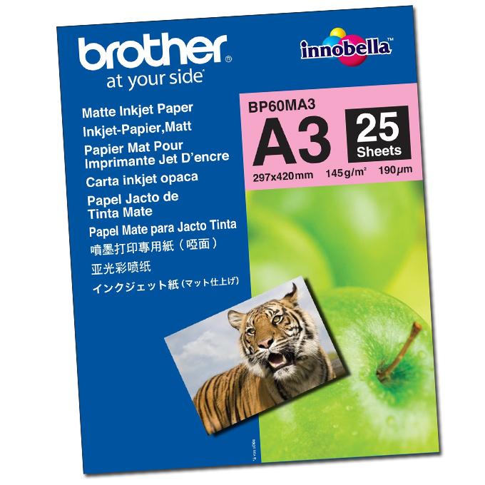 ХАРТИЯ BROTHER BP-60 A3 MATT PHOTO PAPER