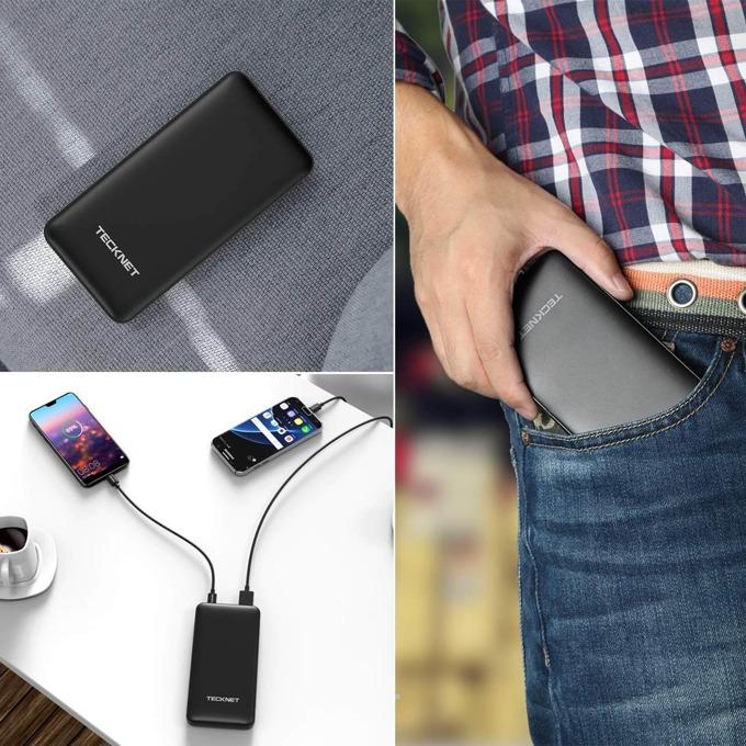Външна батерия/power bank/ TeckNet iEP1010, 10000 mAh, черна image