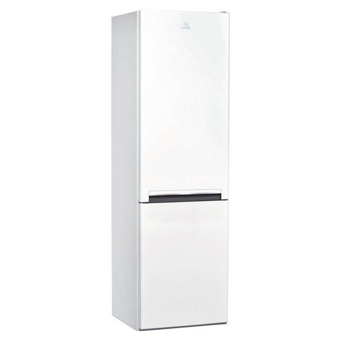 Хладилник с фризер Indesit LI8 S1 W, клас А+, 339 л. общ обем, свободностоящ, 309 kWh/годишно, LED осветление, възможност за обръщане на вратите, бял image