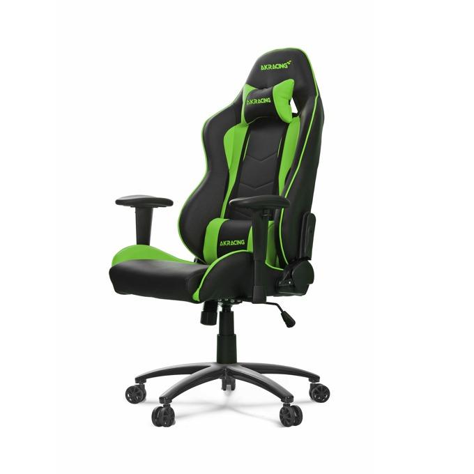 Геймърски стол AKRACING Nitro, зелен image