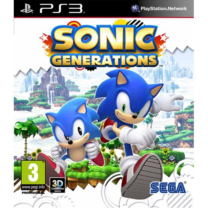 Игра за конзола Sonic Generations, за PlayStation 3 image