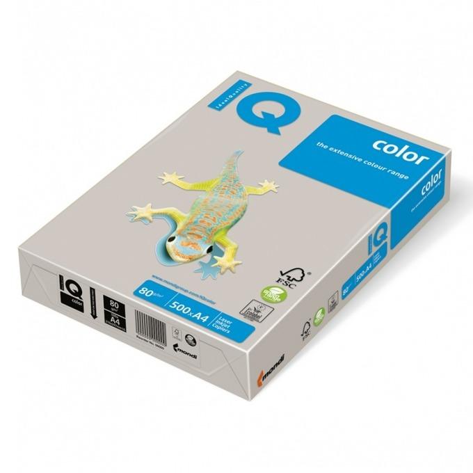 Хартия Mondi IQ Color GR21, A4, 80 g/m2, 500 листа, сив image