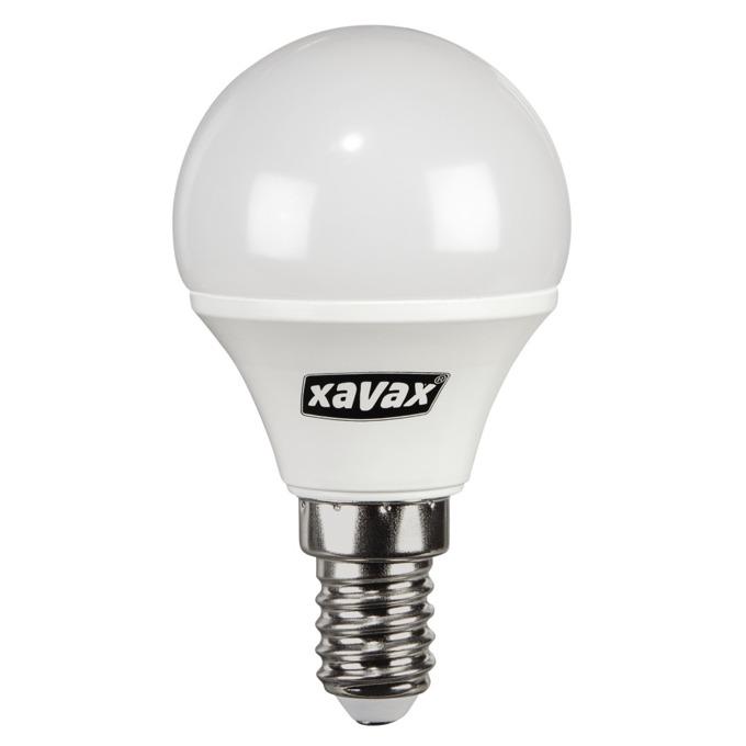 LED крушка Xavax 112291, E14, P45, 5.4W (40W), 470 lm, 2700K, топло бялa image