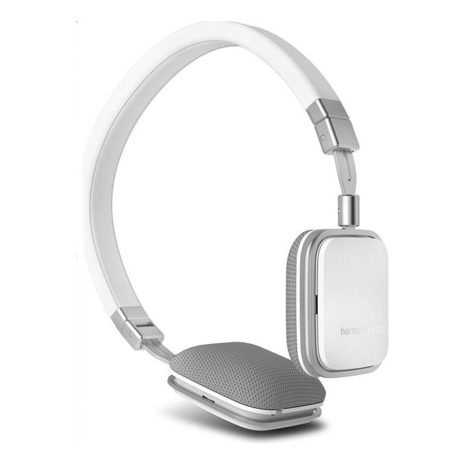 Слушалки Harman Kardon Soho A, бели, микрофон, сгъваеми, оптимизирани за Android устройства image