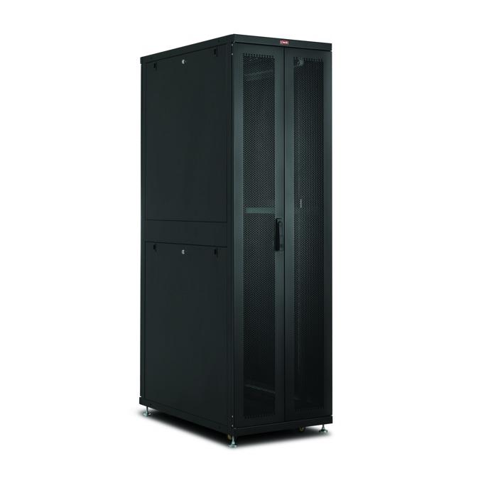 "Комуникационен шкаф Lande LN-SR45U6010-BL-241, 19"", 45U, 600 x 1000 мм, черен image"