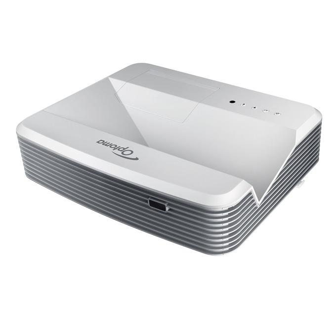 Проектор Optoma EH320USTi, късофокусен, интерактивен, 4000 Lumens, 20 000:1, Full HD, 2 x HDMI, RJ45, USB image