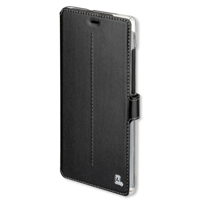 Калъф Huawei P8 Lite, отваряем, еко кожа, 4smarts Supremo Book Flip Case, черен image
