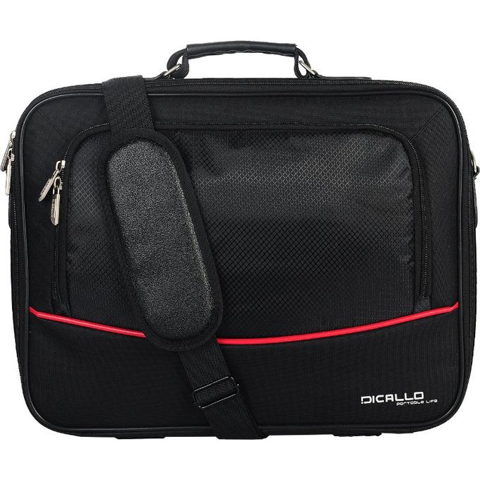 "Чанта за лаптоп Dicallo LLM4040 до 15.6"" (39.62 cm), черна image"