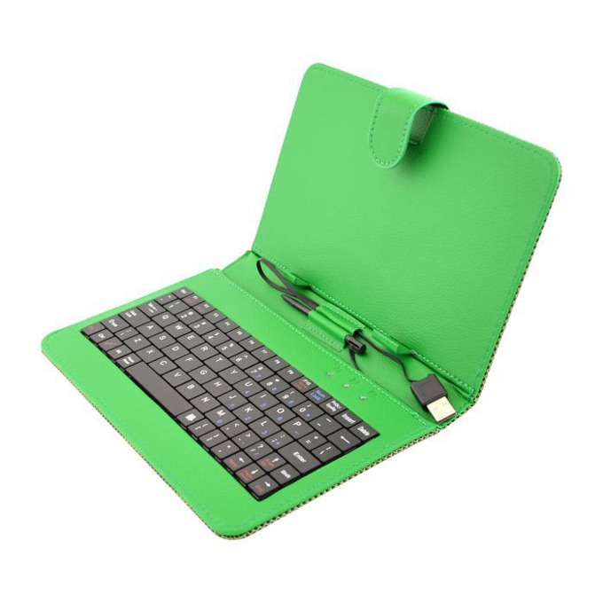 "Калъф  Privileg MID 7 за таблет до 7"" (24.6 cm), ""бележник"", кожа, USB, зелен image"