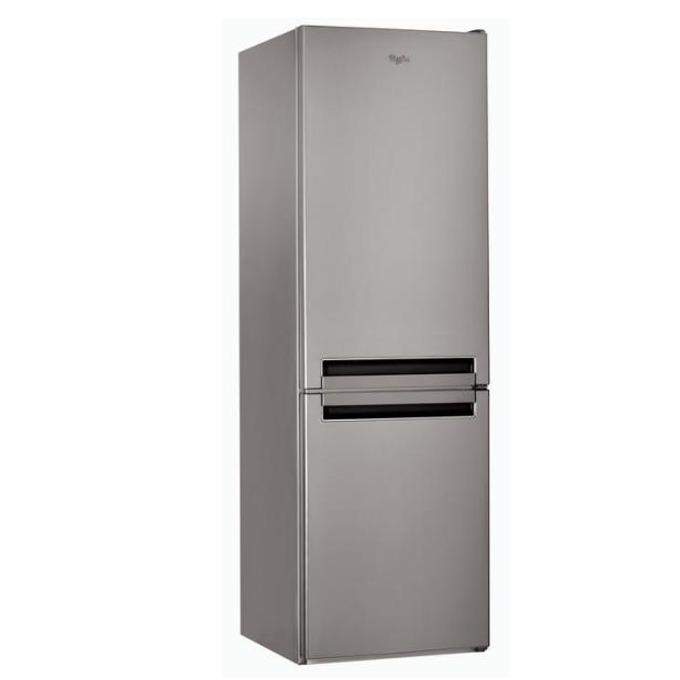 Хладилник с фризер Whirlpool BLF8121OX, клас А+, 6-то чуство, 339 л. общ обем, LED осветление, инокс image