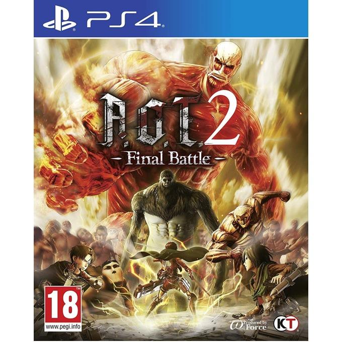 Игра за конзола Attack on Titan 2: Final Battle, за PS4 image