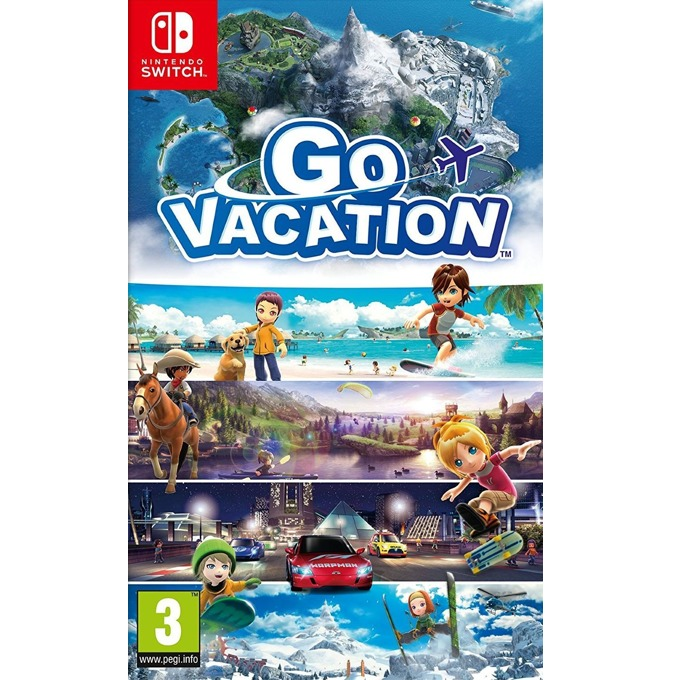 Go Vacation (Nintendo Switch) product