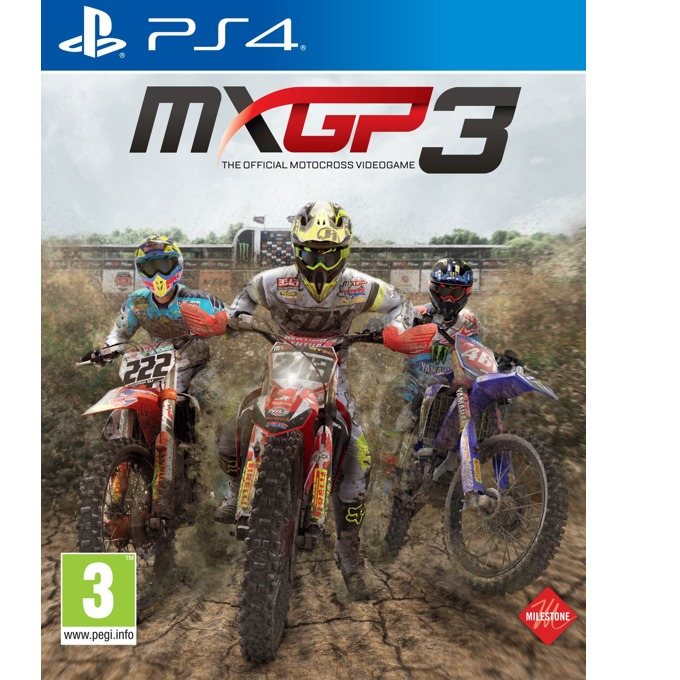 Игра за конзола MXGP 3: The Official Motocross Videogame, за PS4 image