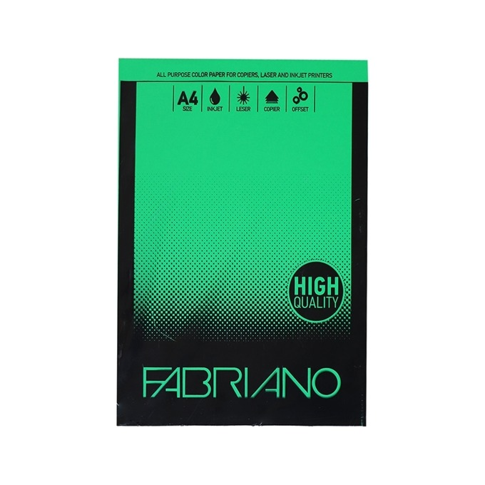 Fabriano A4, 160 g/m2, зелен, 50 листа product