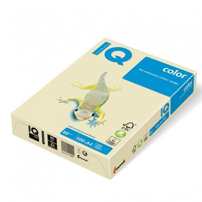 Хартия Mondi IQ Color CR20, A4, 80 g/m2, 500 листа, кремава image