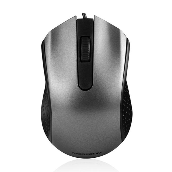Мишка Modecom MC-M4.1, оптична(1200dpi), USB, черна/сива image