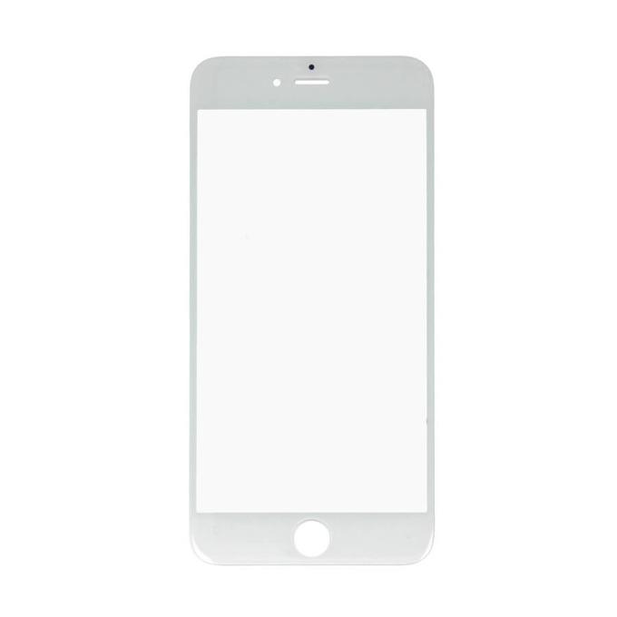 Предно стъкло за iPhone 6 Plus, бял