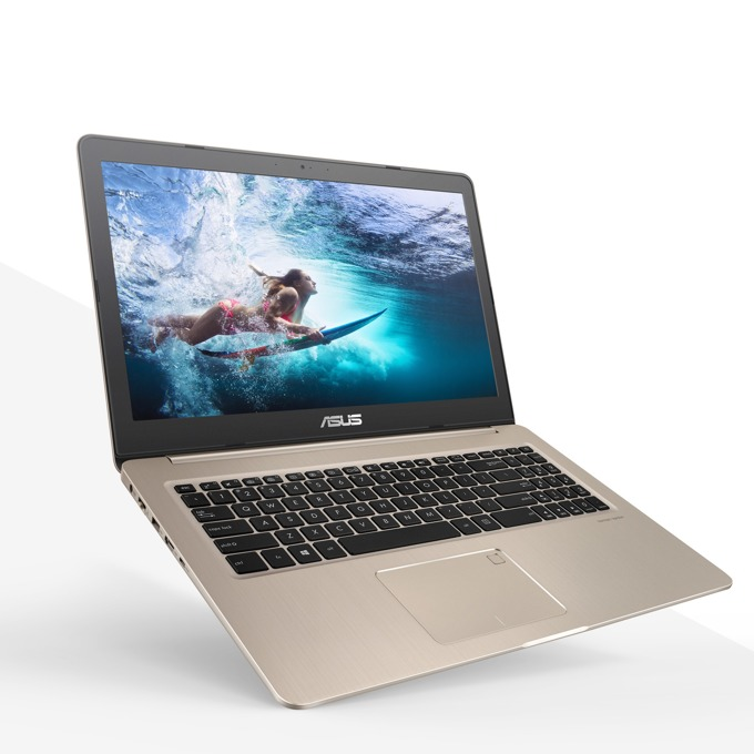 "Лаптоп Asus VivoBook N580GD-E4155 (90NB0HX1-M07870)(златист), шестядрен Coffee Lake Intel Core i7-8750H 2.2/4.1 GHz, 15.6"" (39.62 cm) Full HD Anti-Glare Display & GF GTX1050 4GB, (HDMI), 8GB DDR4, 1TB HDD & 256GB SSD, 1x USB 3.1 Type C, ENDLESS OS image"