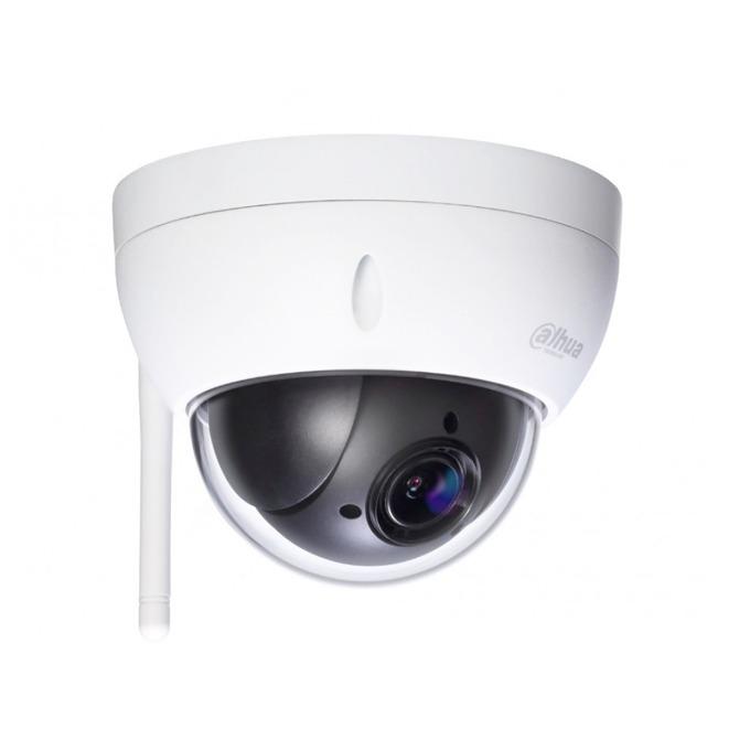 IP камера Dahua SD22404T-GN-W, куполна, 4 Mpix(2592×1520@30FPS), 2.7mm~11mm обектив, H.265/H.264/MJPEG, външна вандалоустойчива IK10, безжична Wi-Fi(802.11a/b/g/n/ac), RJ-45,  image