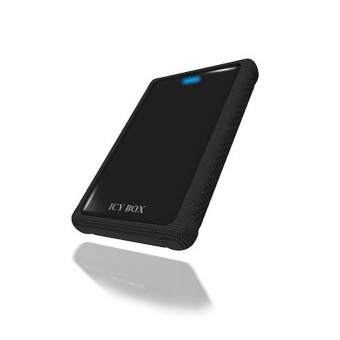 """Кутия 2.5"""" (6.35 cm), RaidSonic ICY BOX IB-223U3-B, USB3.0, черна image"""