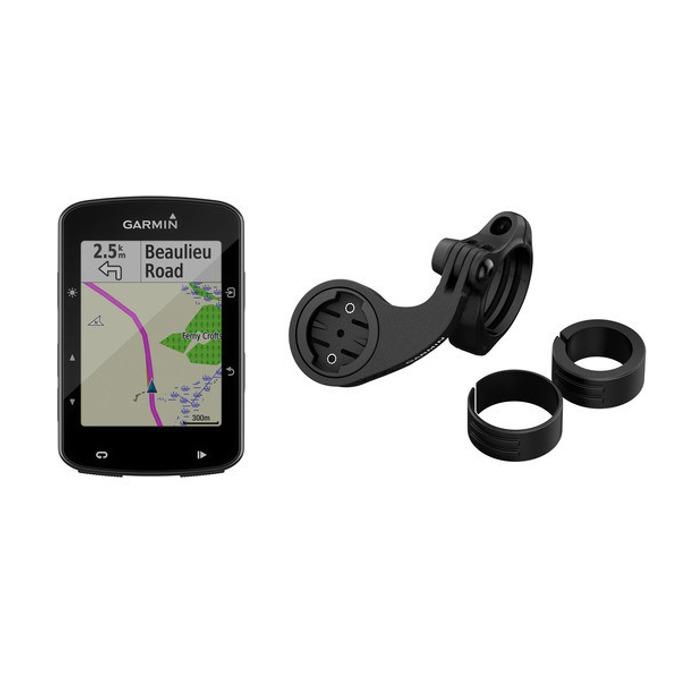 """Навигация за велосипеди Germin Edge® 520 Plus MTB Bundle, 2.3""""(5.84) цветен дисплей, IPX7 водоустойчивост, до 15 часа време за работа, базова карта image"""
