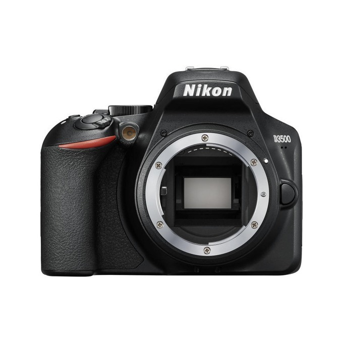 "Фотоапарат Nikon D3500, 24.2 Mpix, 3.0"" (7.62 cm) TFT дисплей, SDXC/HC, HDMI, USB, Bluetooth image"