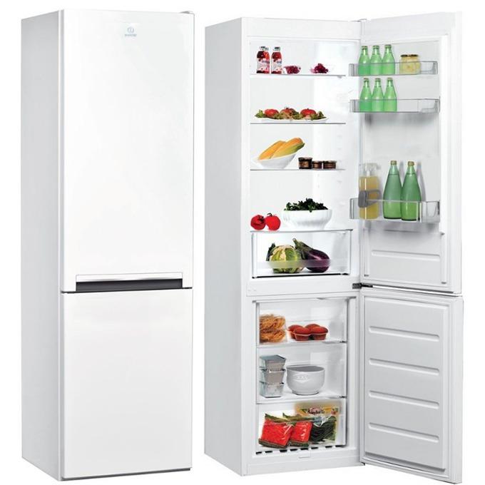 Хладилник с фризер Indesit LI7 S1 W, клас А+, 307 л. общ обем, свободностоящ, 297 kWh/годишно, бял image
