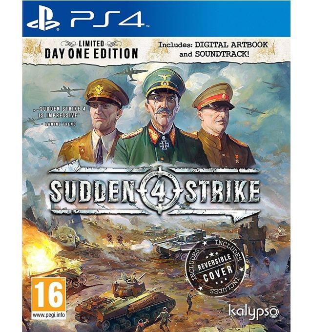 Игра за конзола Sudden Strike 4, за PS4 image