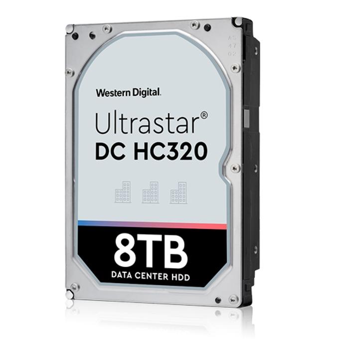 """Твърд диск 8TB HGST Ultrastar DC HC320 HUS728T8TALN6L4(0B36402), SATA 6Gb/s, 7 200 rpm, 256MB кеш, 4Kn sector size(Secure Erase), 3.5"""" (8.89 cm) image"""